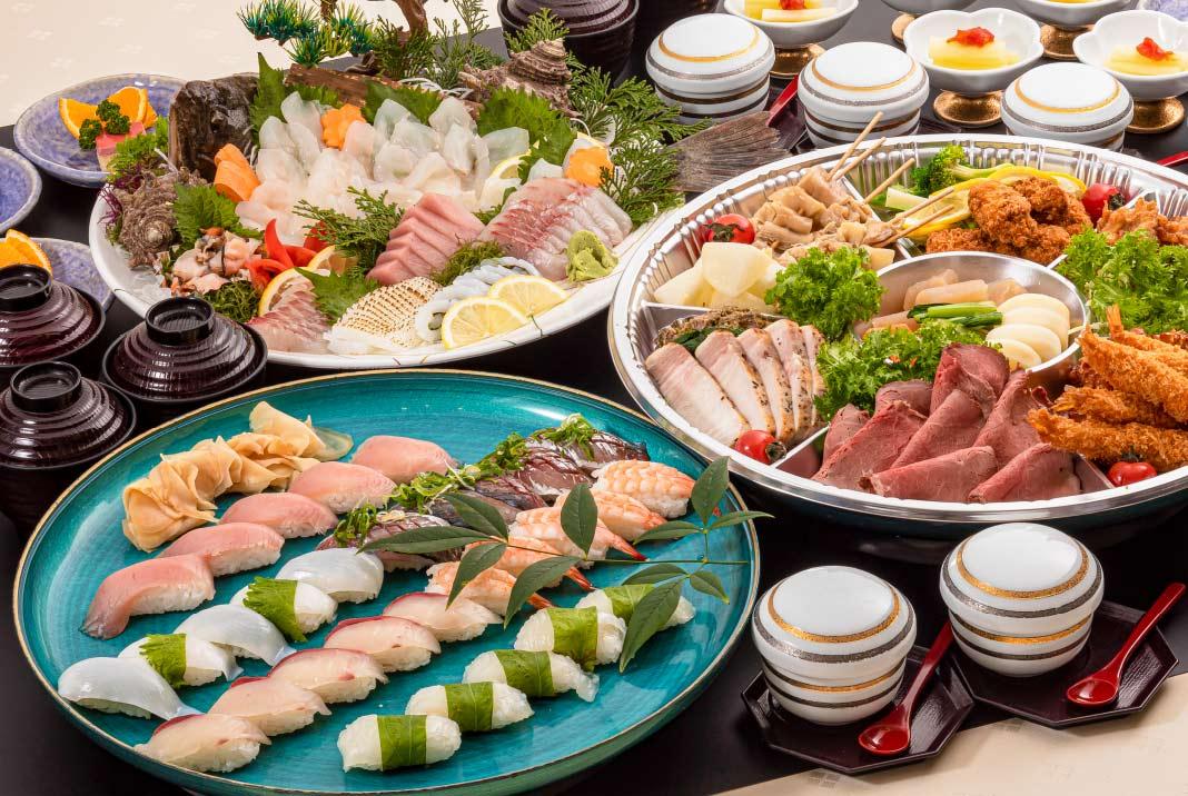 宴会と、もてなしの料理